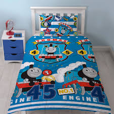 Thomas And Friends Bedroom Set by Thomas U0026 Friends Patch Single Duvet Cover Set Kids Boys Bedding