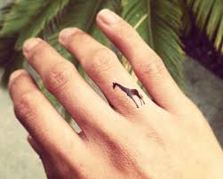 Giraffe Tattoos Meaning 55 Finger Tattoos And Design