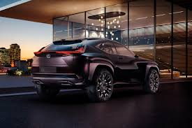 lexus crossover pictures new lexus ux crossover concept officially announced for paris