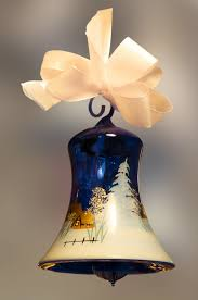 free images white flower bell blue lamp yellow lampshade
