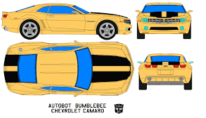 transformers bumblebee car side view