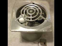 Fasco Bathroom Exhaust Fan Dumpster Find Vintage 1940s Nutone Kitchen Exhaust Fan Demo Youtube