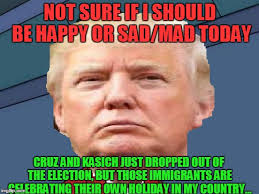 Meme Cinco De Mayo - today is a great and horrible day for trump imgflip