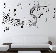 music note home decor brand new diy wallpaper music note wall stickers for creative wall
