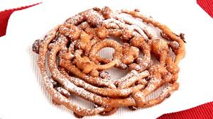 homemade funnel cake recipe laura vitale laura in the kitchen