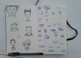 i u0027ve always loved sketching eyes but practicing face shapes and