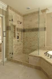 Bathroom Shower Tiling Tile Bathroom Showers Best 25 Master Bath Shower Ideas On