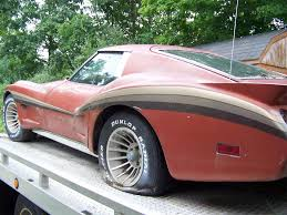 corvette kit corvettes on ebay barn find 1974 corvette with greenwood widebody