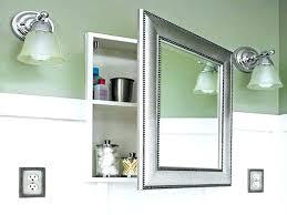 Lighted Bathroom Medicine Cabinets Lighted Bathroom Medicine Cabinet Aeroapp