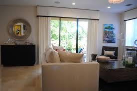 Sliding Patio Door Curtain Ideas Sliding Glass Door Window Treatments Kitchen Modern With Blinds