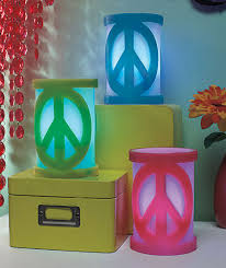 peace sign bedroom led peace sign candles our price 9 95 each film music books