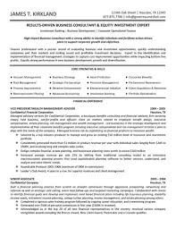 Business Development Resumes Business Consultant Resume Sample 7 New Business Development