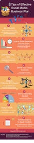 infographic 8 tips of effective social media business plan