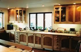 Cheap White Cabinet Cheap Farmhouse Decor Built In Sink Cooktop Gray Tile Floor Square