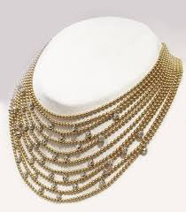 cartier yellow gold necklace images Yellow gold cartier draperie necklace for sale at 1stdibs jpg