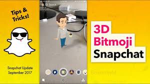 Bikin Video Animasi Snapchat | how to use 3d bitmoji on snapchat youtube
