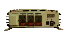 vertamax 3000 watt 12v battery power inverter dc to ac car rv