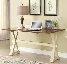 coaster fine furniture writing desk top writing desk with trestle base