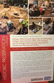 Interactive Map Msu Capblog Msu Campus Archaeology Program Protecting Michigan