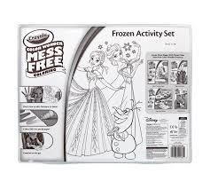 color mess free frozen activity crayola