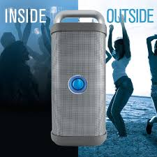 big blue party big blue party indoor outdoor bluetooth speaker agazoo