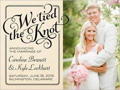 wedding announcement cards social titles 5x7 stationery card by yours truly 2 47 per card