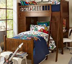 camp twin bunk system u0026 twin bed set pottery barn kids