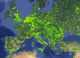 Goofle Map Interactive Heatmaps With Google Maps Api V3 Joy Of Data