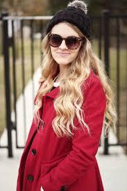 hello modesty red winter jacket