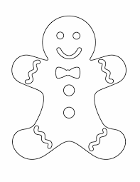 kids gingerbread man coloring pages christmas christmas coloring