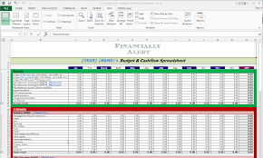How To Read A Budget Spreadsheet by How To Budget Like A Badass The Easy Way Part 1 Financially