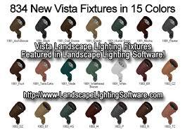 Vista Landscape Lighting by Vista Lighting Fixtures Featured In Landscape Lighting Software