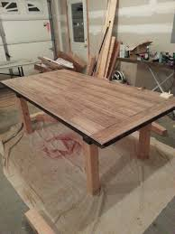 Diy Laminate Flooring Diy Dining Table Laminate Flooring As The Table Top Within A
