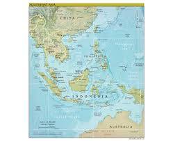 Map Of South Asia by Maps Of Southeast Asia Southeast Asia Maps Collection Of