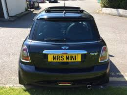 2007 57 mini cooper with full punch leather panoramic sunroof