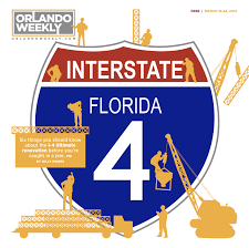 Orlando Traffic Map by Six Things You Should Know About The I 4 Ultimate Renovation