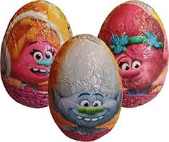 easter eggs surprises trolls chocolate egg 3 supplied co uk toys