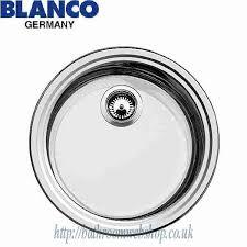 Steel Kitchen Sinks BLANCO Rondosol C Stainless Steel Kitchen - Fitting kitchen sink waste