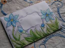Decorated Envelopes 57 Best Decorated Envelopes Images On Pinterest Decorated