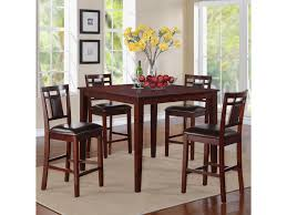Standard End Table Height by Standard Furniture Westlake 5 Piece Counter Height Table With
