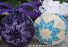 how to make fabric ornaments available sting