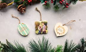 personalized photo ornaments photobarn groupon