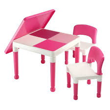 pink table l duplo table