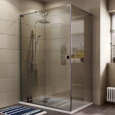cooke u0026 lewis luxuriant rectangular shower enclosure with hinged