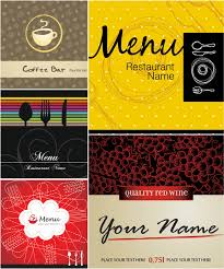 indian restaurant menu cover design