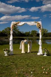 wedding arches decorated with tulle wedding arch decoration ideas