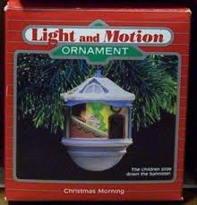 1987 hallmark keepsake magic ornament light and motion