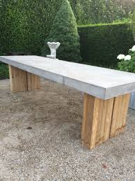 Concrete Patio Table Set Patio Chairs Concrete Patio Dining Table Cement Outdoor Setting
