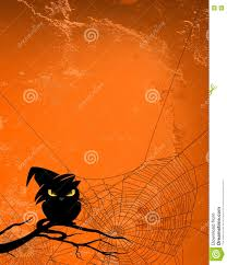 cat halloween background images halloween background with black cat and spider web stock vector