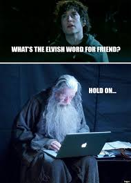Frodo Meme - meme watch tech support gandalf is the only installation wizard